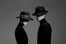 Шляпа BORSALINO арт. 390299 ALESSANDRIA (темно-синий)